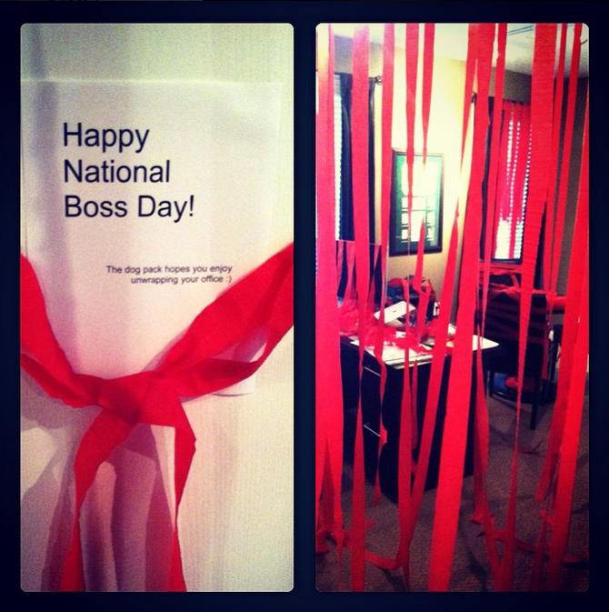 National Boss Day buy-in