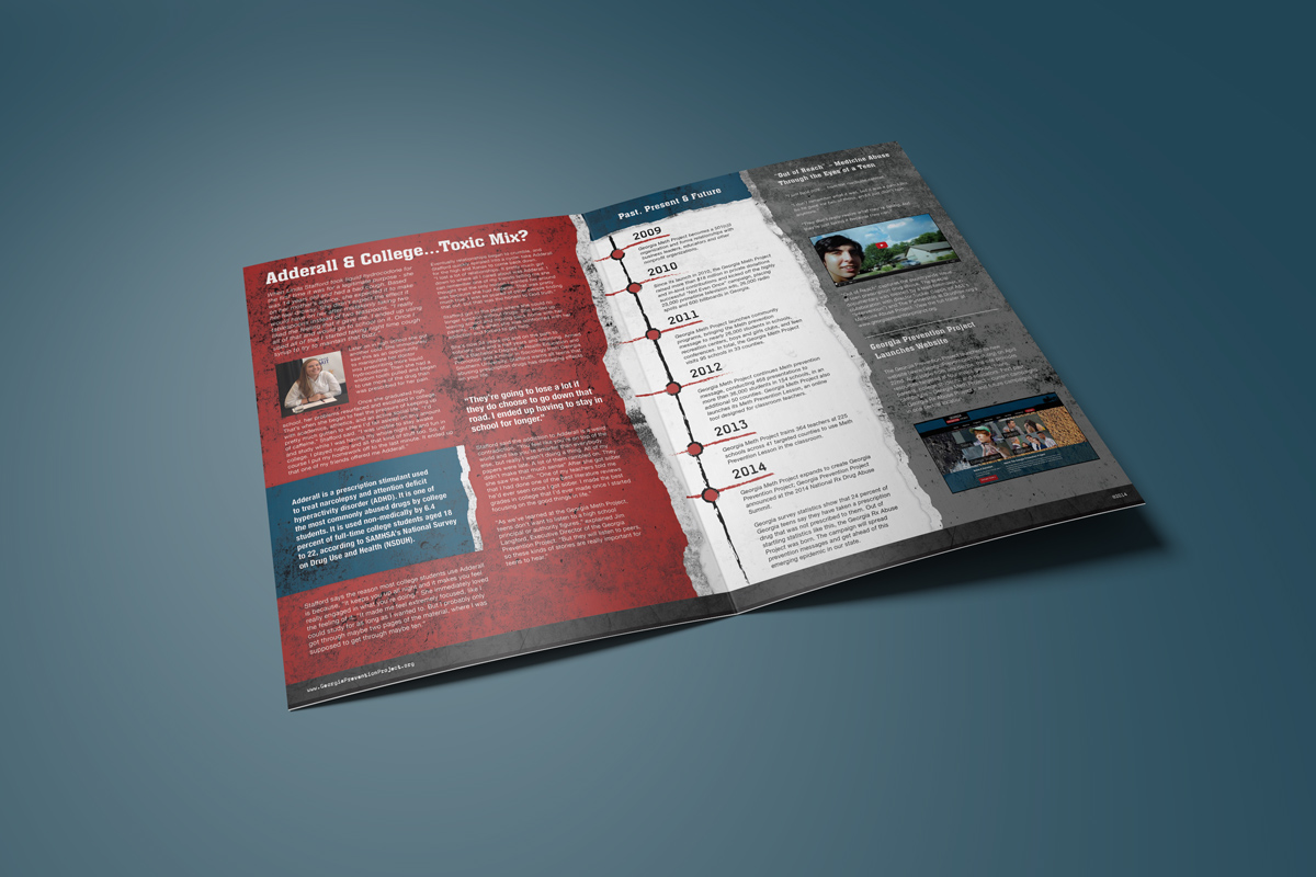 Image perceived to contain Brochure Flyer Paper Poster Wallet File Binder File Folder  on the Fairburn, GA Web Design page