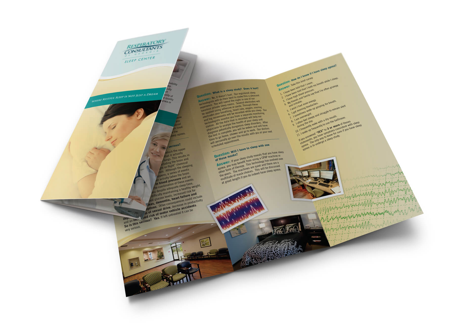 Image perceived to contain Brochure Flyer Paper Poster Banister Handrail Staircase  on the Calhoun, GA Web Design page