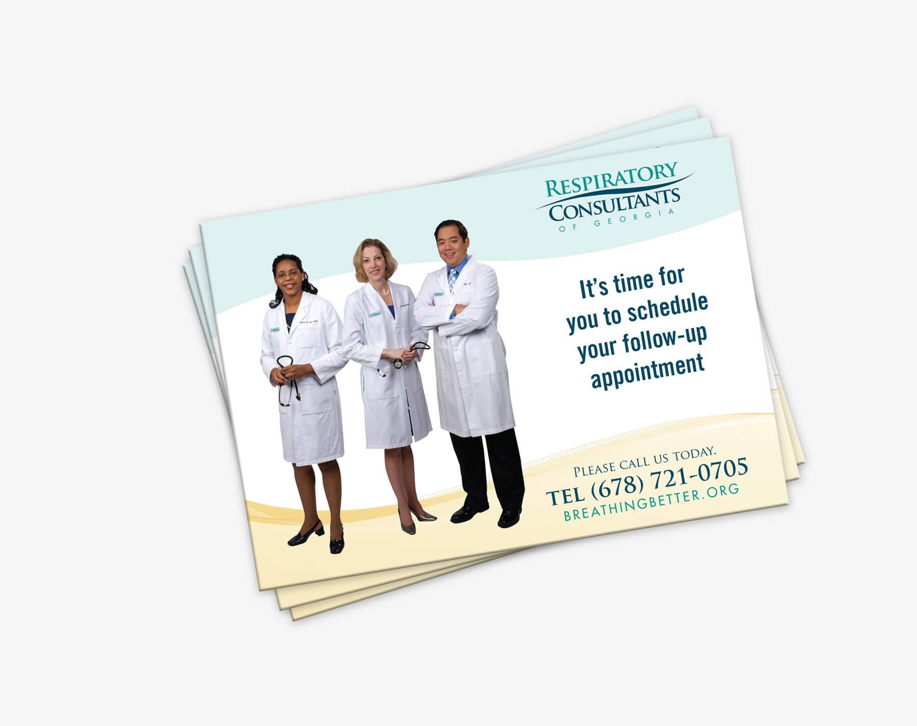Image perceived to contain People Person Human Brochure Flyer Paper Poster Nurse  on the Calhoun, GA Web Design page