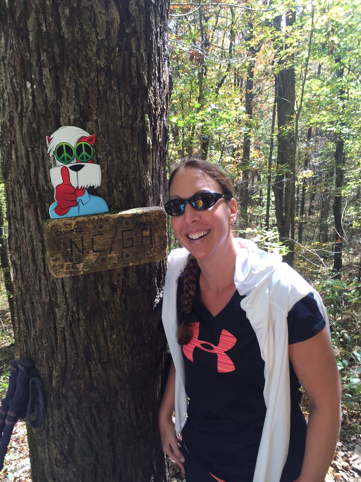 Image perceived to contain People Person Human Head Portrait Baseball Cap Cap Hat  on the Moppy and I Tackle an Appalachian Journey—205,485 Steps at a Time - Marietta & Kennesaw GA page